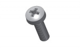 carriage bolts Kreuzslot DIN 7985 - M3x10 - PA6.6 colour nature