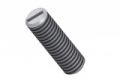 threaded pin with partslot DIN551-M6x10 - PA6.6 colour nature