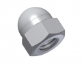 cap nut DIN 1587 - M3x0.5mm