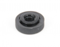 knurled nuts colour black 16 M5x0.8 10 1.4 6