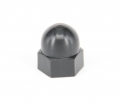 cap nutn ahnl. DIN 1587. M3x6.0mm. colour black