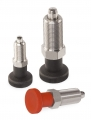 Index Bolts without Stop, fine-pitch thread M10x1