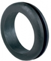 Standardtuellen D (mm)= 46 d1 (mm)= 32 d2 (mm)= 38 h (mm)= 3 H (mm)= 11 Typ TPR = black thermoplastic rubber which resists oil and greases and can withstand temperatures from -40 GradC to +130 GradC